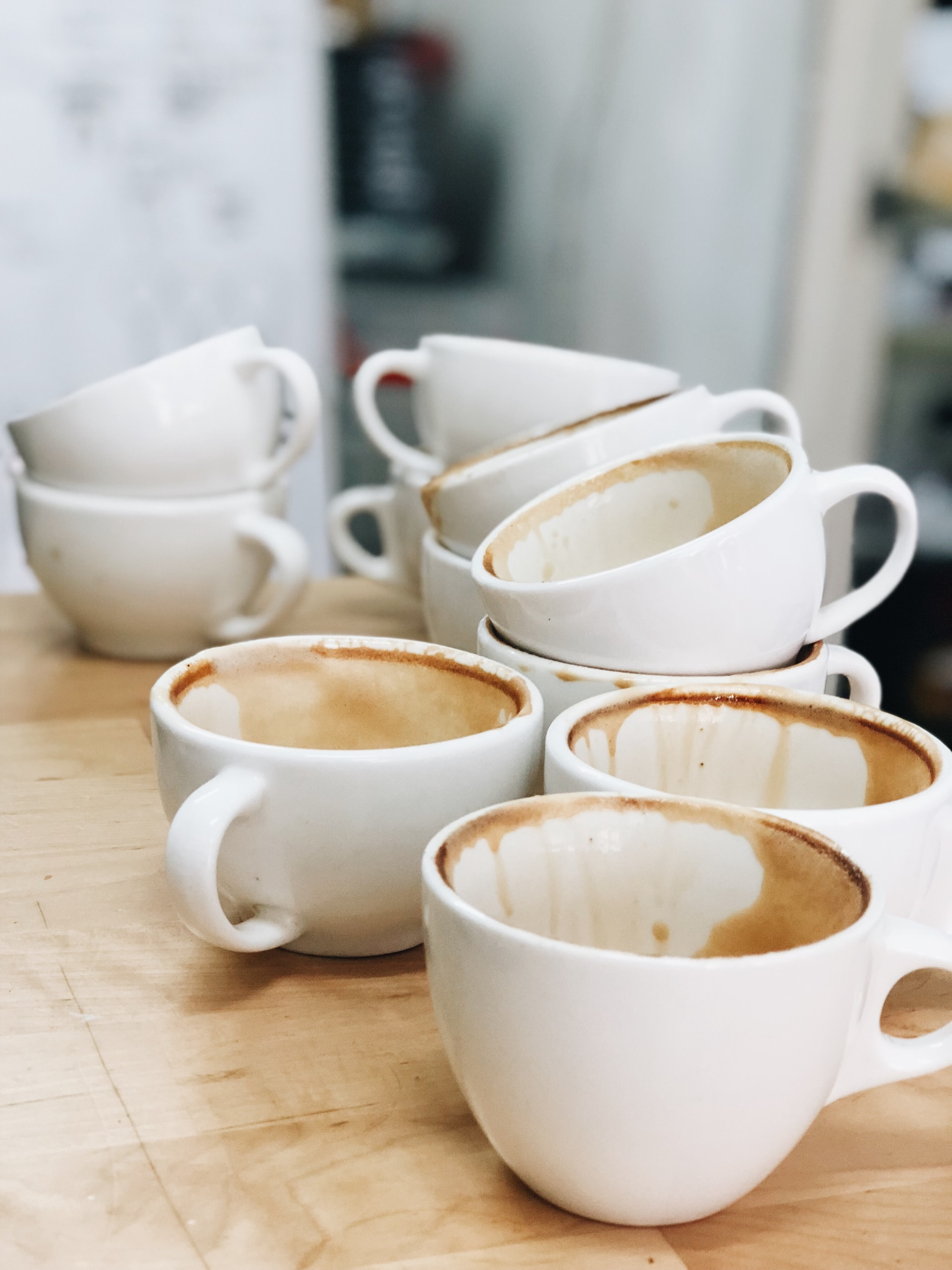 Kaffee Detox -erhöhter Kaffee-Konsum