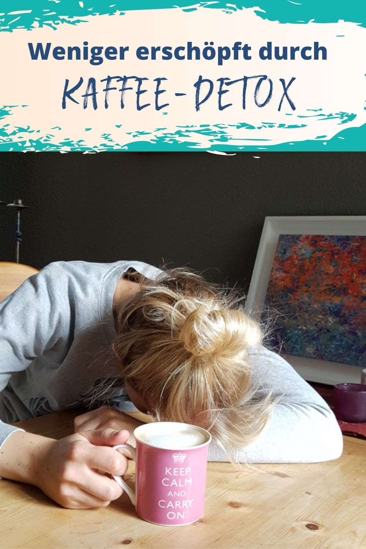 Weniger erschöpft und müde durch Kaffee-Detox